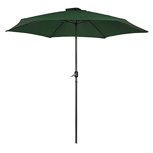 Aktive - Parasol hexagonal Garden diámetro 3 m - Mástil de aluminio 38 mm - Color verde (ColorBaby 53874)
