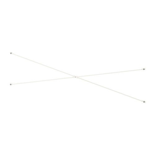 Ikea ELVARLI Stützkreuz für Aufbewahrungssystem; in weiß; (40cm)