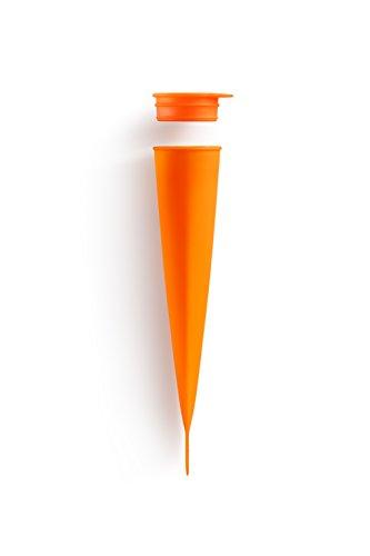 Lékué 3402200N05 Moule de Crème Glacée Silicone Orange 45 x 35 x 25 cm
