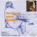 Plays Brahms 3 by Backhaus