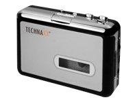 Technaxx DigiTape DT-01 Digitales Konvertierungsgerät für Audio-Kassetten schwarz/Silber - Digitalisieren Sie Ihre Alten Audio-Kassetten!