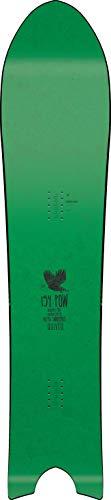 Nitro Snowboards Herren Quiver BRD'19 stark getaperte Swallowtail Powder Board Freeride Backcountry Pow Surfer Günstig, 154