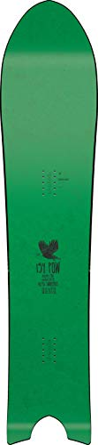 Nitro Snowboards Herren Quiver BRD'19 stark getaperte Swallowtail Powder Board Freeride Backcountry Pow Surfer Günstig, 154