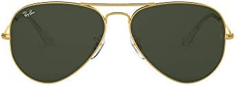 Ray-Ban Unisex-Adult 0RB3025 Classic Aviator Sunglasses