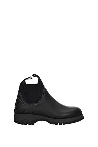 Prada, Damen Stiefel & Stiefeletten, Schwarz - Schwarz - Größe: 38.5 EU