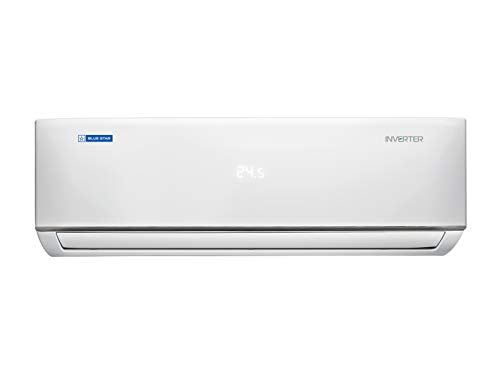 Blue Star 1.5 Ton 5 Star Inverter Split AC (Copper IC518DBTU White)