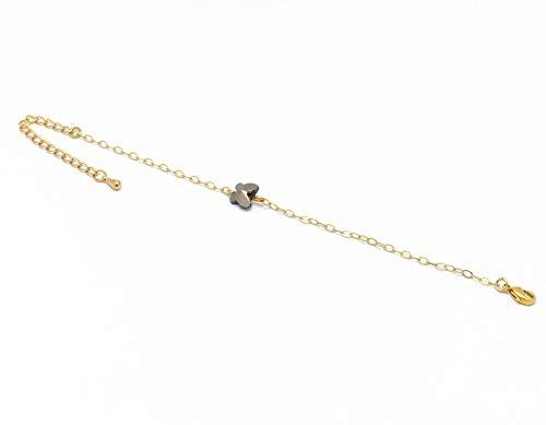 Armband SCHMETTERLING verstellbares Goldarmband Swarovski Silber Nacht Geschenke Weihnachten Jubiläumsschmuck Hochzeit zeremonie gäste Muttertag Brautjungfer