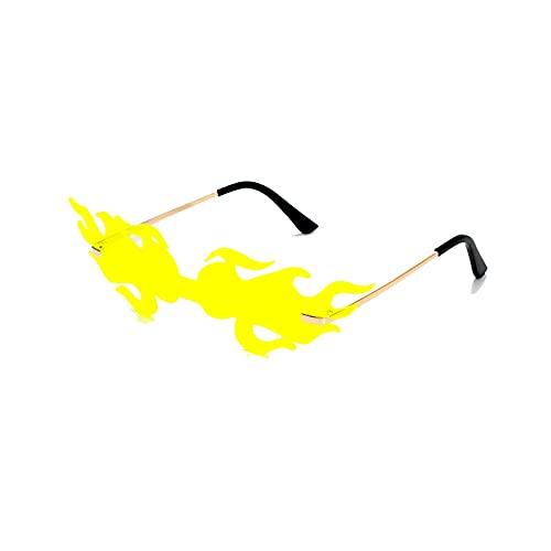 HAOMAO Uv400 Driving Cool Eyewear Steampunk Gafas de sol fotocromáticas sin montura para mujeres y hombres 2