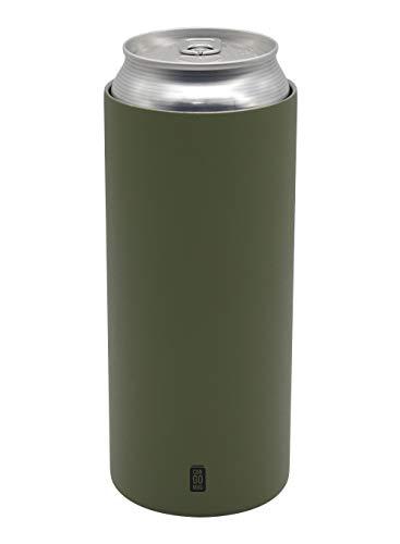 シービージャパン 缶 ホルダー グリーン 500ml 保温 保冷 ステンレス 真空 断熱 CAN GOMUG
