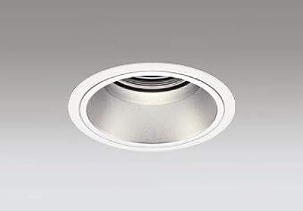 ODELIC LEDベースダウンライト グレアレス CDM-T70W相当 オフホワイト?銀色 43° 埋込穴Φ125mm 電球色 3000K M形 一般型 専用調光器対応 XD402418 (電源?調光器?信号線別売)
