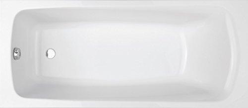 Jacob Delafon E6115-00 Brive Baignoire rectangulaire, Blanc