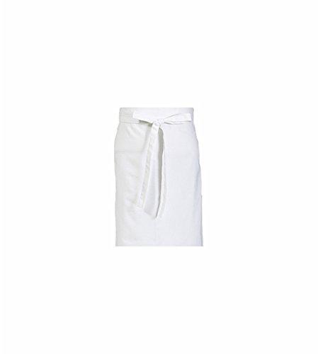 5er Set CaptainWorkwear Vorbinder für Damen und Herren - Arbeitsschürze 60x80cm in weiß