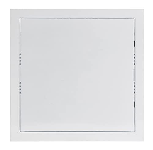 20x20 cm Weiß Revisionsklappe Revisionstür Revision Stahlblech (200x200 mm)