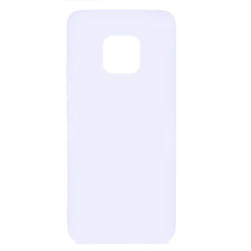 PuYu Zhe Funda Compatible con Huawei Mate 20 Pro, Carcasa Silicona Suave Gel Rasguño y práctico Teléfono Móvil Cover Amarillo