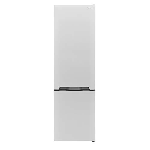 Sharp SJ-BA05IMXW2-EU Kühl-Gefrier-Kombination / A++ / Höhe 180 cm / Kühlteil 194 L / Gefrierteil 70 L / NoFrost / Steuerung über LED-Piktogramme / ZeroDegreeZone-Schubfach (0°C-Zone)