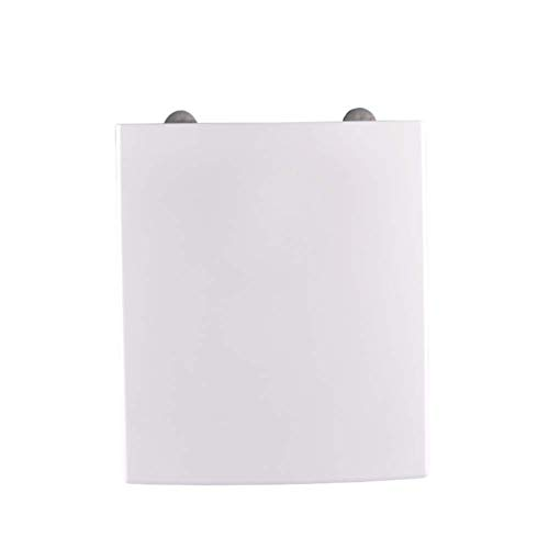 LIYANJIN Toilettendeckel,WC Sitz weiß eckig • passend zu • Absenkautomatik/Softclose • abnehmbar • Click n' clean •