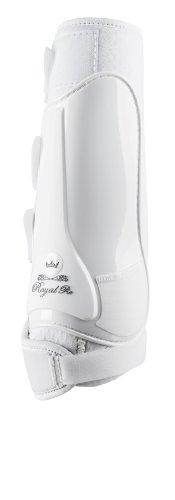 Gera 2037 H Royal Pro Dressurgamasche, hinten, Große III/XL, weiß, paarweise