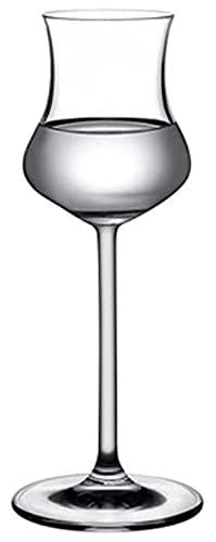 LPQSY Copas de Vino Copas de Vino Copas de Vino de Cristal, Juego de 2-95ml - Gran Estilo de Baloon Artesanal LEED-Free - para vinos Blancos Rojos - Gafas Profesionales de champán de cata de vinos