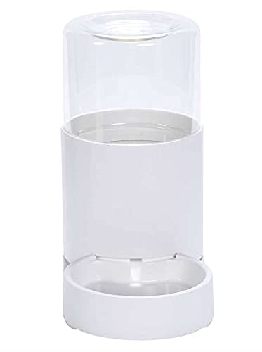 (Manaheart)ペット給水器2.5L大容量自動給水器 ペットボトル お留守番 不在時 旅行 残業出張 多頭飼い 大 中 小型犬猫用 経済的 エコ 電気代不要 補充 掃除 分解 滑り止めマット ウォーターボトル