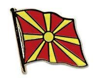 Mazedonien Flaggen Pin Fahnen Pin Flaggenpin