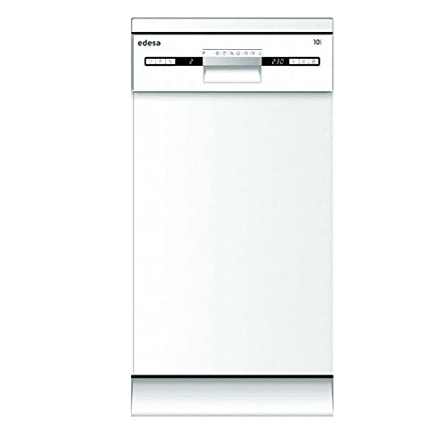 EDESA EDW 4710 WH - Lavavajillas libre instalación (ancho de 45 cm, 7 programas, Eficincia Energética E) color blanco