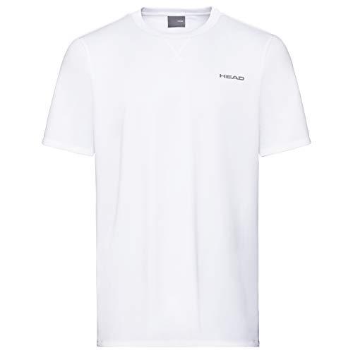 HEAD Mens Easy Court T-Shirt, Weiß, XL