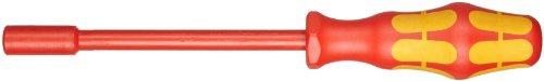 Wera 05104905001 190 i VDE-isolierter Steckschlüssel, 1/4 Zoll x 125 mm, Hex