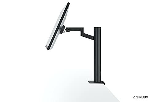 LG 27UN880-B 68,4 cm (27 Zoll) UltraFine Ergo Monitor (4K UHD, IPS-Panel, ergonomischer Standfuß), schwarz