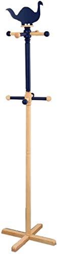 Free Standing Kapstok, massief hout Kinderen Staande kapstok kapstok Multifunctionele Slaapkamer Hangers Hout Kleur 153x40cm, Maat: 153x40cm, Kleur: Hout Kleur