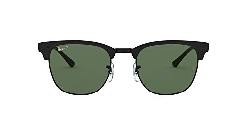 Ray-Ban 0RB3716 Gafas, MATTE BLACK ON BLACK, 51 Unisex