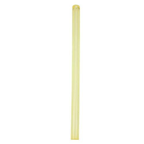 Geel Polyurethaan Ronde Holle Stang Hoge Kwaliteit Ronde PU Stang 20-40mm OD 8mm Bore 500mm Lang(#02-25 * 8 * 500(1st))