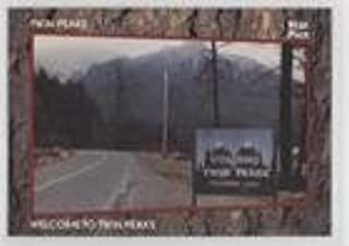 Welcome to Twin Peaks (Trading Card) 1991 Star Pics Twin Peaks - [Base] #1
