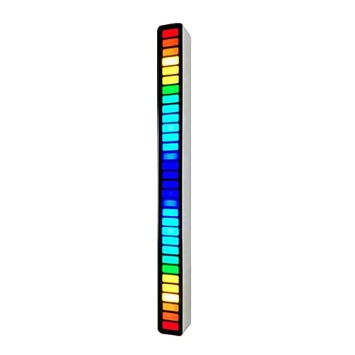 Procesador Arm de 32 Bits Luz de Ritmo de AtmóSfera Musical, Control de Sonido de La Pastilla del Ritmo de La Luz Para La Fiesta Y El Regalo de Los NiñOs 18 Modos de Color