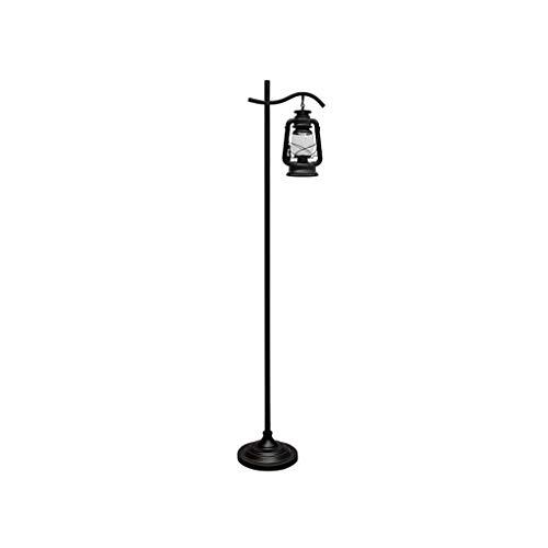 AJZXHE Lampadaire Vintage de Style européen Lampadaire de Style européen Lampadaire de la Salle d'étude de la Chambre 166 × 36cm (Design : Foot Switch)