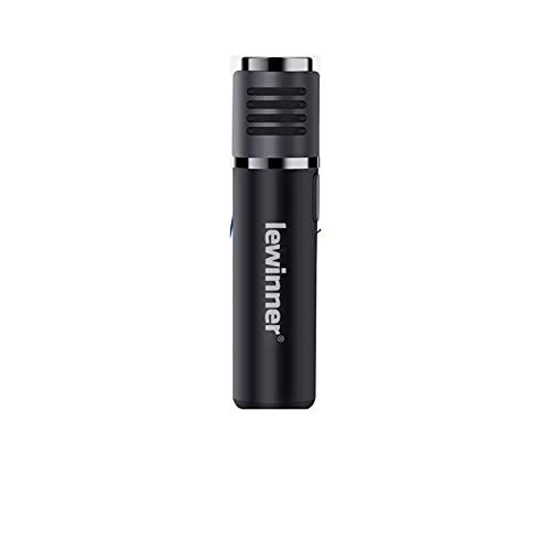 mikrofon Micrófono inalámbrico Bluetooth Micrófono Radio en Tiempo Real Reducción de Ruido Vídeo Corto Vlog Dispositivo de grabación para Vlogger Microphone