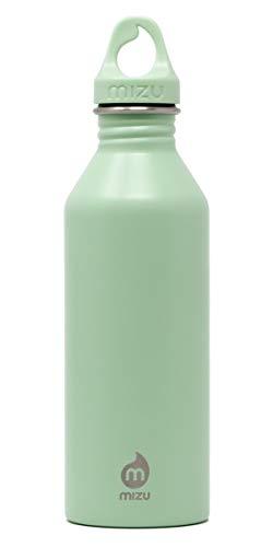 Mizu M8, Borraccia in Acciaio Inox. Unisex-Adulto, Vetro Marino, 750 ml