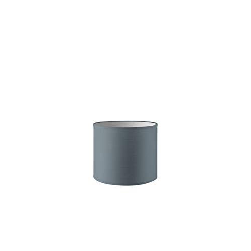 Lampenschirm rund | Bling | Geeignet Für Pendellampe Stehlampe Tischlampe Wandlampe Deckenlampen besteht aus Baumwolle Für E27 Fassung Durchmesser 20cm Höhe 17cm Hellgrau Für alle Innenraumen