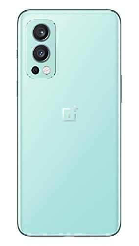 OnePlus Nord 2 5G 12 GB RAM 256 GB SIM-freies Smartphone mit Dreifachkamera und 65W Warp Charge - 2 Jahre Garantie - Blue Haze - 2