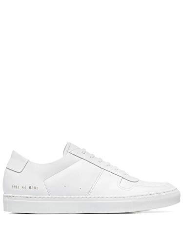 COMMON PROJECTS Luxury Fashion Herren 21550506 Weiss Leder Sneakers | Jahreszeit Permanent