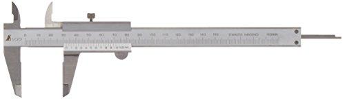 シンワ測定(Shinwa Sokutei) 普及ノギス シルバー M型 150mm 19899