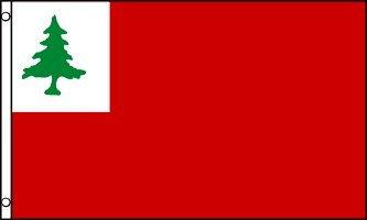 AZ FLAG New England Flag 3' x 5' - Continental Flags 90 x 150 cm - Banner 3x5 ft