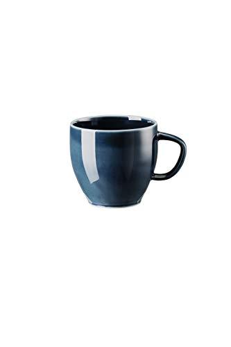 Rosenthal - Kaffee-Obertasse, Kaffeetasse, Tasse - Junto Ocean Blue - Porzellan - 0,23 l