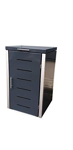 Gero metall Müllbehälterschrank für eine 120 Liter Tonne