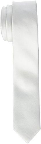 James Tyler Schmal, handgefertigt Corbata Blanco Weiß), 5