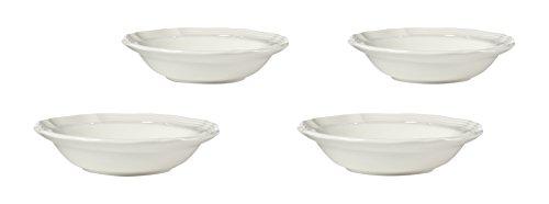Mikasa French Countryside Fruit Bowl (Set of 4), White