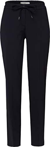 BRAX Damen Style Mareen Infinite Life Jogger Relaxed Fit Modern Hose, Black, W(Herstellergröße: 40)