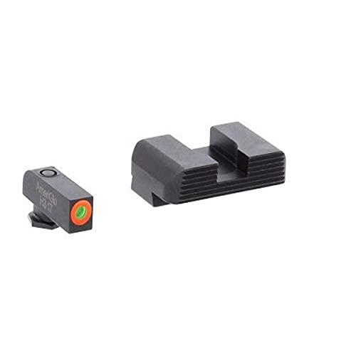 AmeriGlo GL-433 Hackathorn Sight Set for Glock, Black
