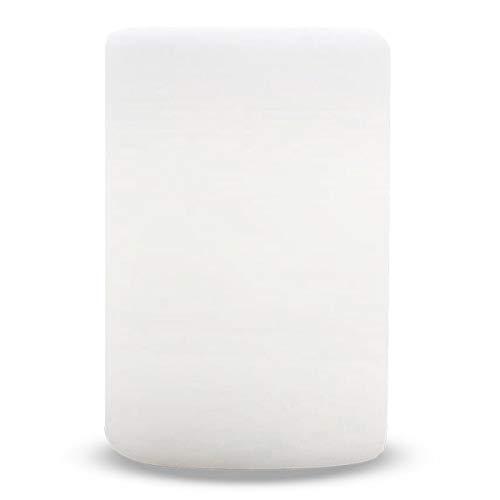 Columna de luz LED blanca/multicolor regulable ALTY H24cm con control remoto y base de inducción