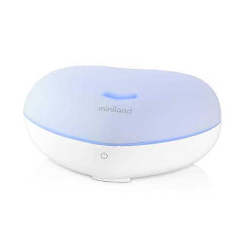 Miniland Natural Sleeper - Estación de sueño para bebés. Ayuda para dormir bebés, estimulación multisensorial con ruido blanco, luz y aroma.