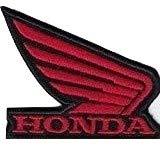 MAREL Parches Honda Moto Ali Racing Corse Logo 6 x 5 cm parche bordado réplica -1120 r p